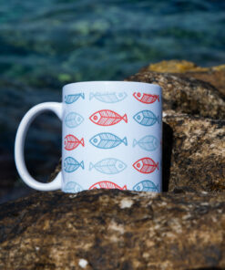 fishbones mug